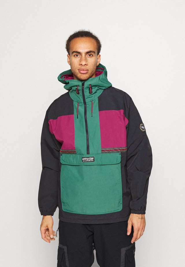 DOME - Snowboard jacket - antique green