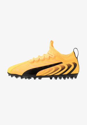 ONE 20.3 MG - Moulded stud football boots - ultra yellow/black/orange alert