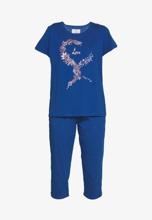 CAPRI SET - Pyjama - lagoon blue