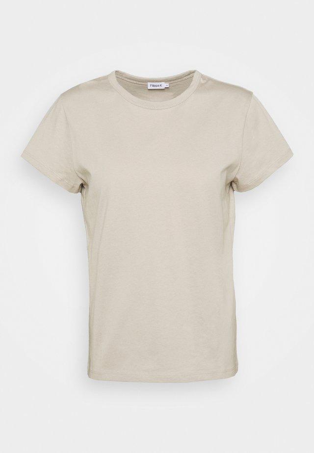 EDNA - T-shirt basique - grey beige