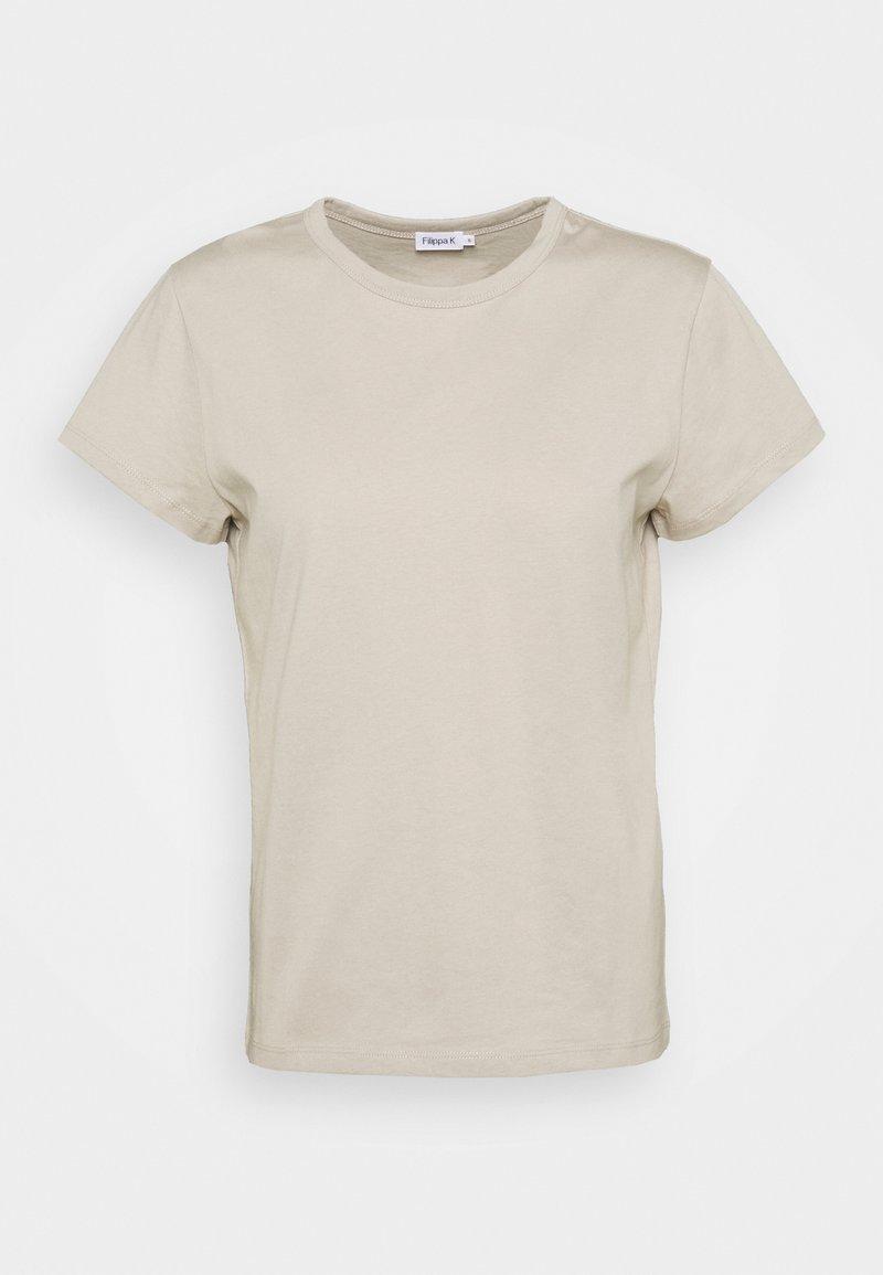 Filippa K - EDNA - Basic T-shirt - grey beige