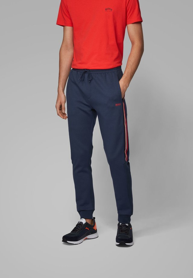 HALVO - Tracksuit bottoms - dark blue