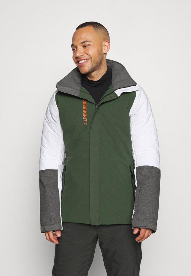 MIKE  - Lyžařská bunda - thyme green