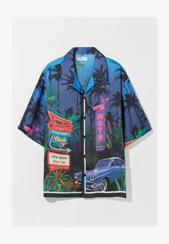 RELAXED FIT - Shirt - dark blue
