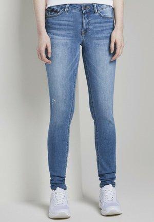 JEANSHOSEN JONA EXTRASKINNY JEANS - Jeans Skinny Fit - used mid stone blue denim