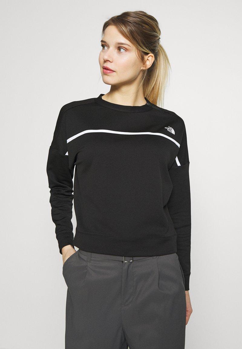 The North Face - WOMENS VARUNA PULLOVER - Sweatshirt - black