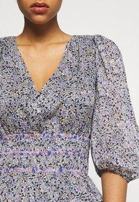 maje - RILOTA - Korte jurk - bleu - 4