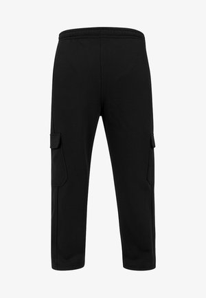 CARGO SWEATPANTS - Tracksuit bottoms - black