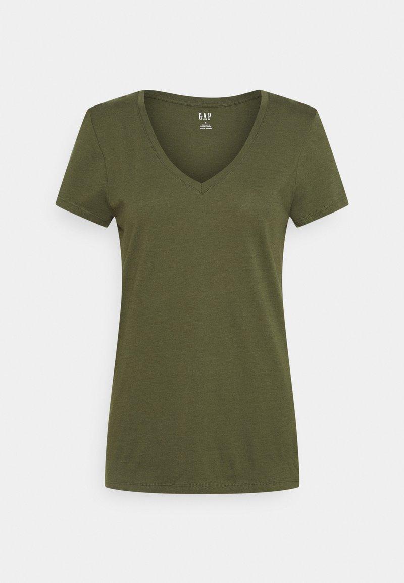 GAP - Basic T-shirt - army jacket green