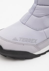 adidas Performance - TERREX COLD.RDY SHOES - Botas para la nieve - glow grey/clear black/purple tint - 5