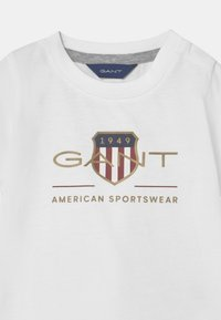 GANT - ARCHIVE SHIELD - Print T-shirt - white - 2
