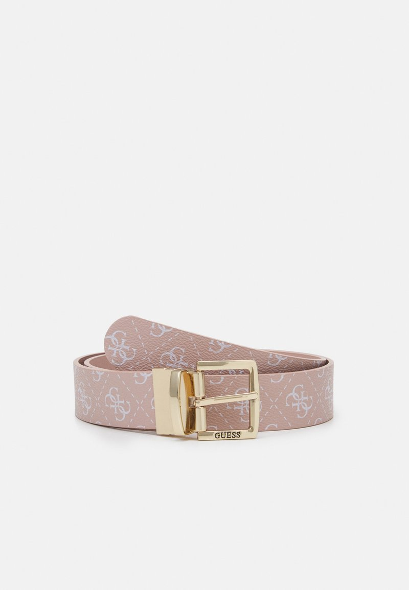 Guess - TYREN PANT BELT - Belt - blush