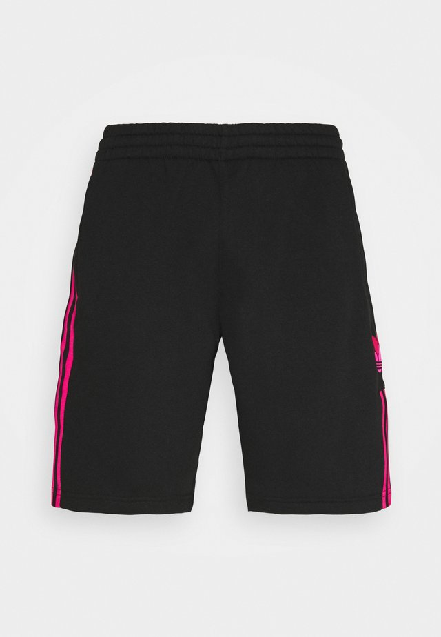 UNISEX - Shorts - black/shopnk