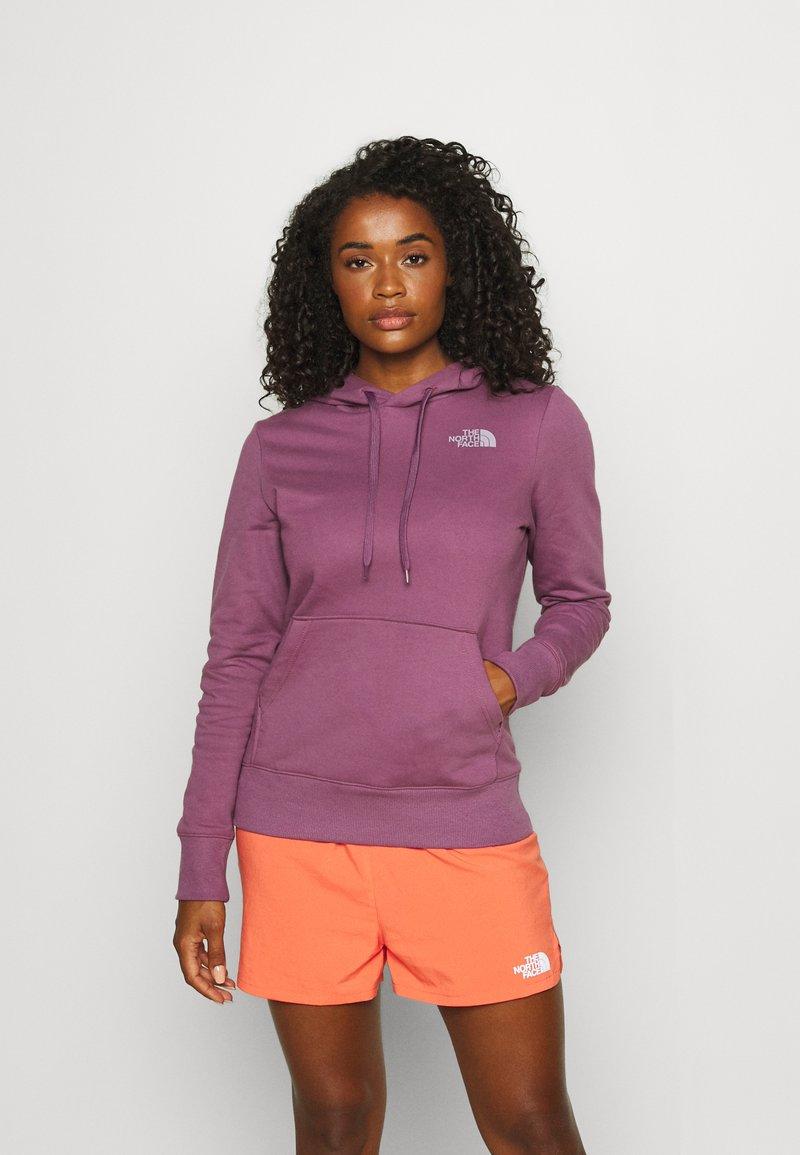 The North Face - CLIMB HOODIE - Sweatshirt - pikes purple