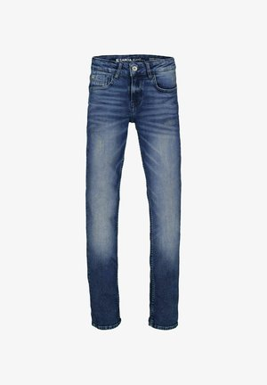 XANDRO  - Slim fit jeans - blue