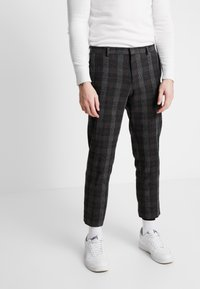 Shelby & Sons - TOTTON TROUSER - Trousers - grey - 0