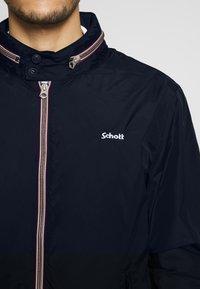 Schott - CABLE - Lehká bunda - navy - 5