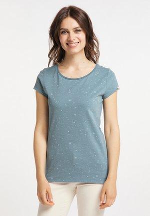 B ORGANIC - Print T-shirt - dusty green
