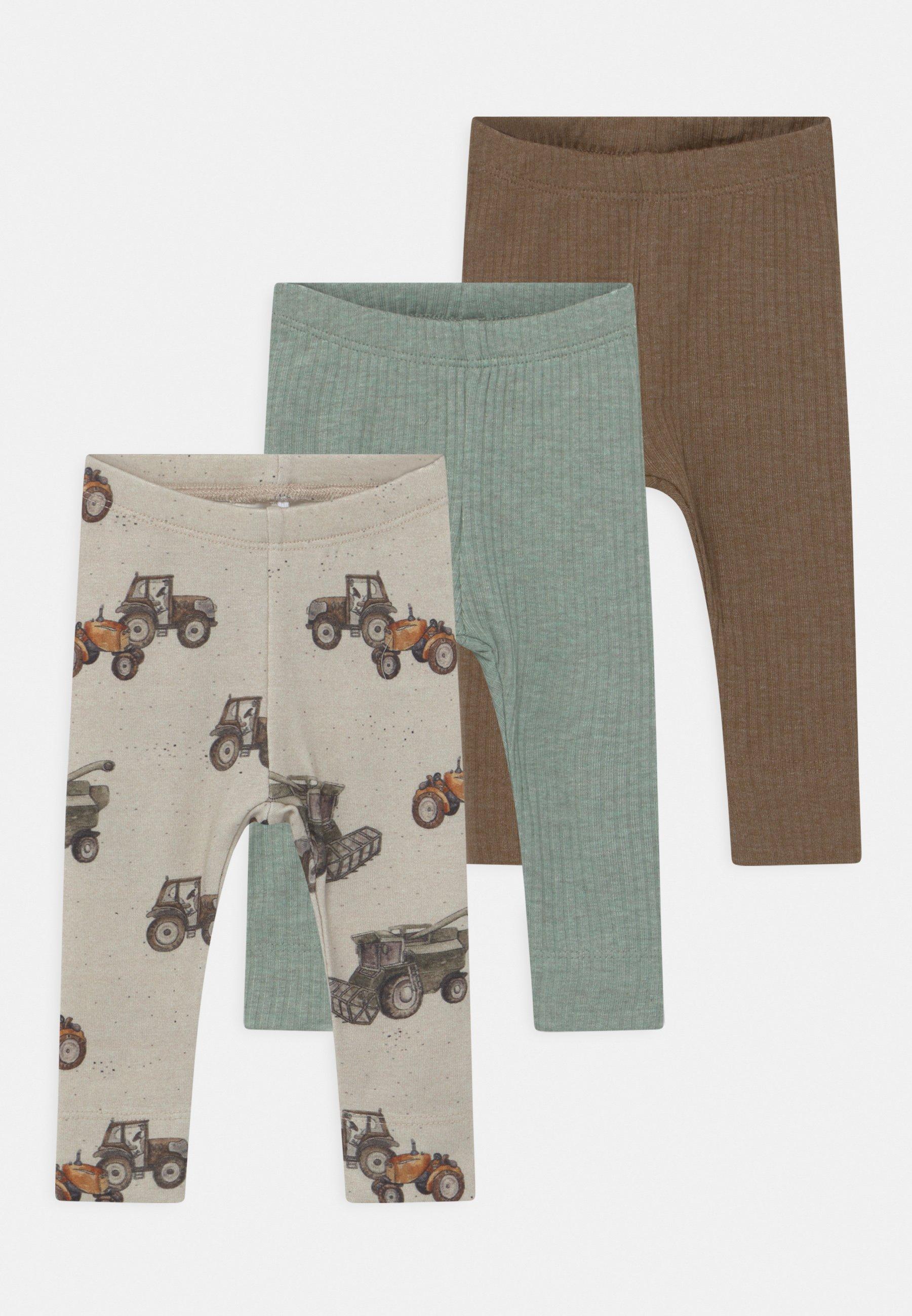 Kids NBMFRODDE 3 PACK UNISEX - Leggings - Trousers