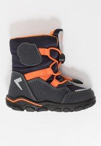 Lurchi - KERO SYMPATEX - Winter boots - atlantic/orange - 1