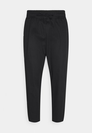 PANTS LONG - Kangashousut - black