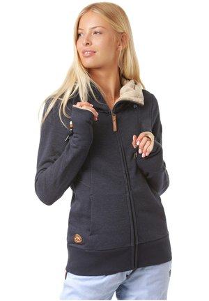 LIBERTY  - Zip-up hoodie - navy