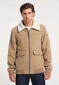 DreiMaster - Light jacket - beige melange - 0