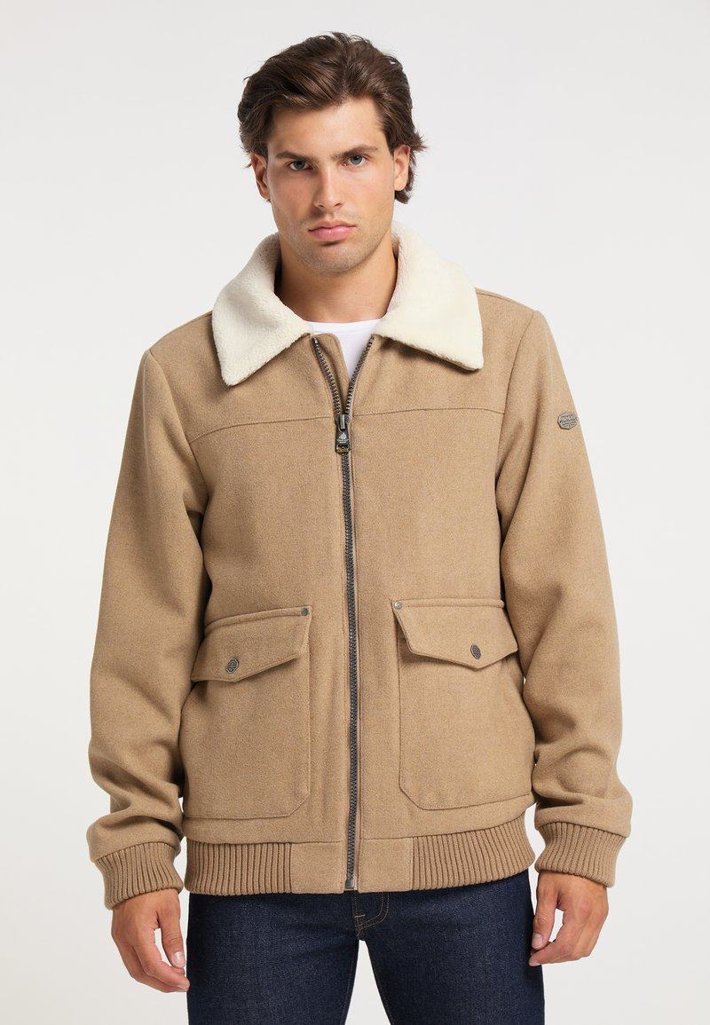 DreiMaster - Light jacket - beige melange