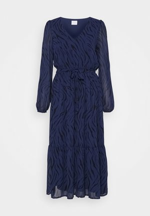 VINOELLEZEBBA MIDI DRESS - Hverdagskjoler - patriot blue