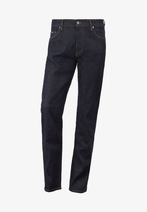 ALBANY - Slim fit jeans - dark blue