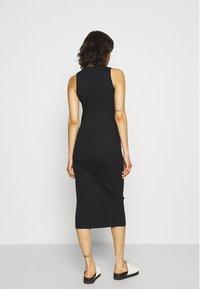 Vero Moda - VMLAVENDER CALF DRESS - Shift dress - black - 2