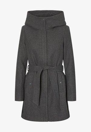 Trenchcoat - dark grey melange