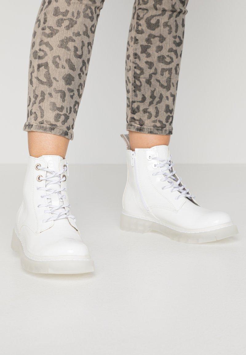 Tamaris - Ankelboots - white
