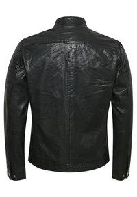 Matinique - Leather jacket - black - 8