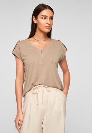 Basic T-shirt - desert