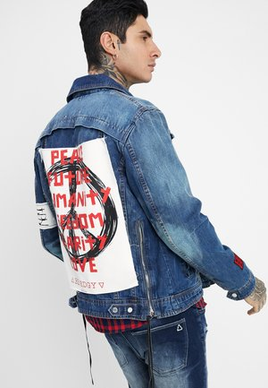 DUSTY  - Denim jacket - blue denim