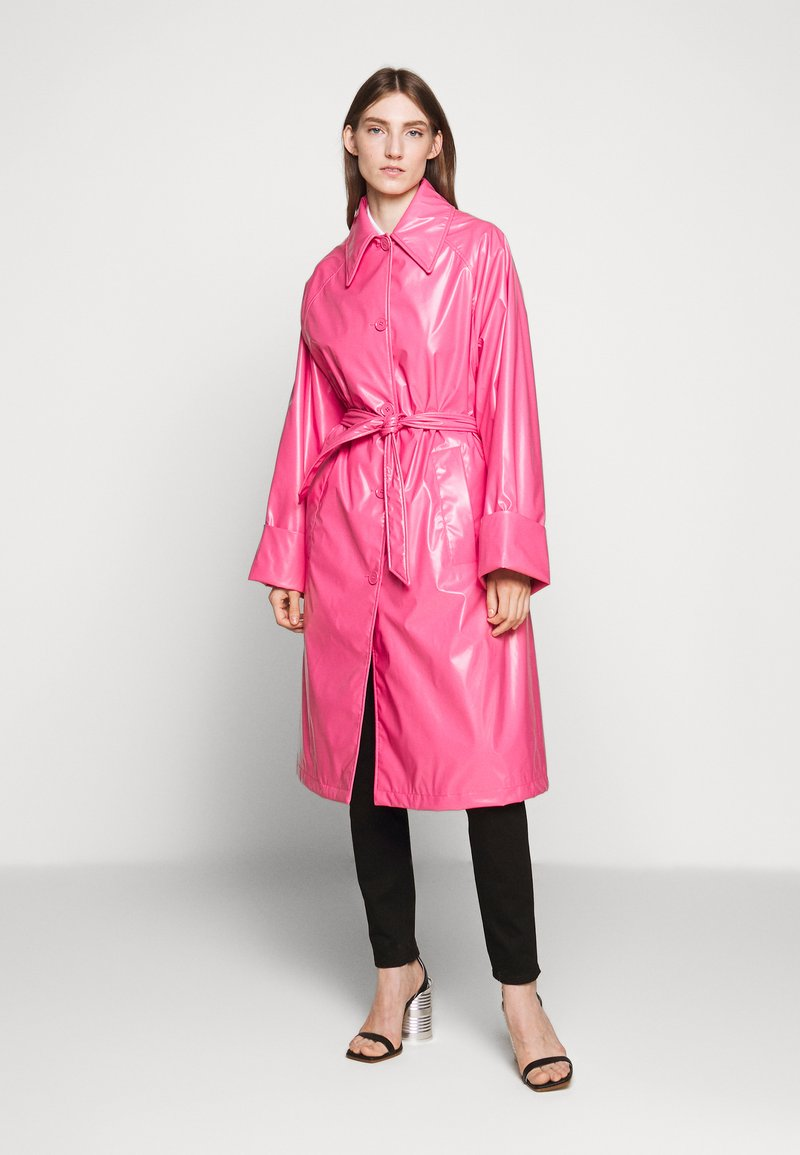 MM6 Maison Margiela - COLOR - Trenchcoat - barbie pink