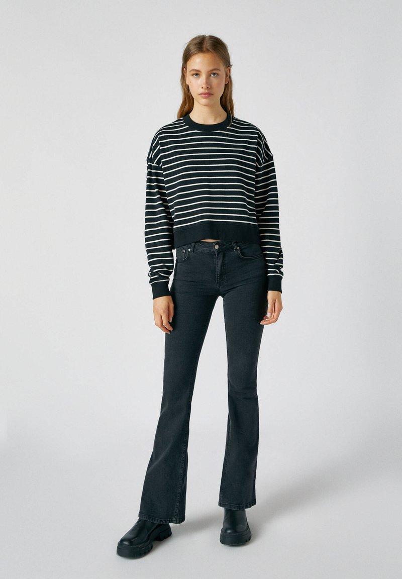 PULL&BEAR - Sweatshirts - black