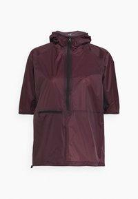 ANORAK - Waterproof jacket - mahogany