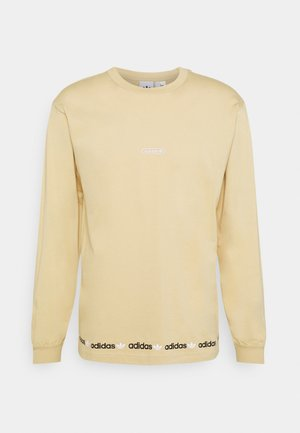 LINEAR REPEAT ORIGINALS LONG SLEEVE - Langærmede T-shirts - hazy beige