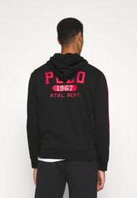 Polo Ralph Lauren - LONG SLEEVE - Felpa con zip - black - 2