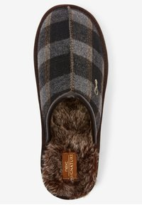 Next - MODERN HERITAGE CHECK - Slippers - brown - 1