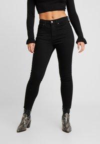 Topshop Petite - JAMIE - Jeans Skinny Fit - pure black - 0