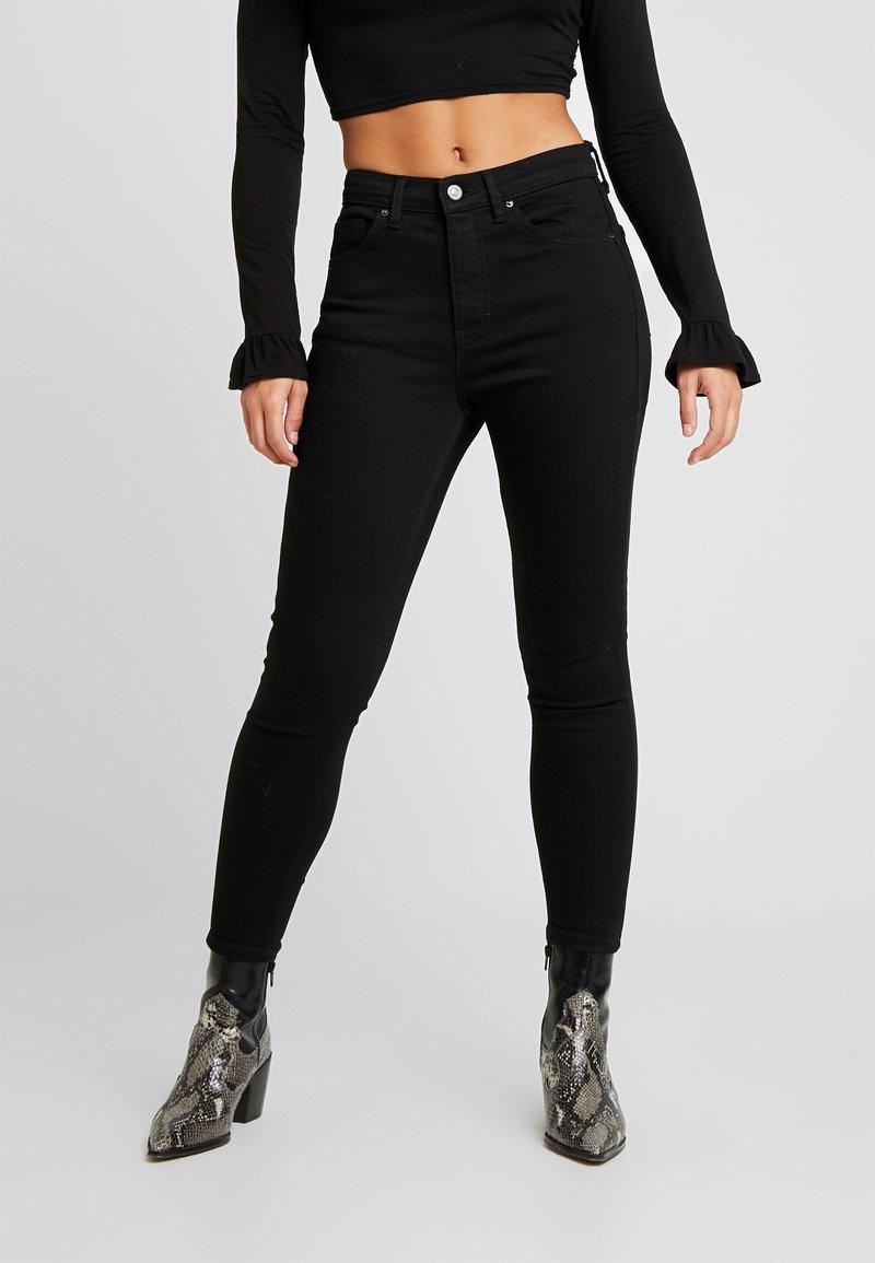 Topshop Petite - JAMIE - Jeans Skinny Fit - pure black