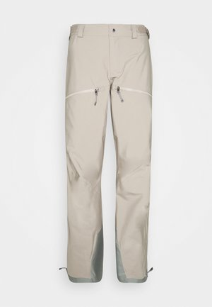 PURPOSE PANTS - Talvihousut - sandstorm