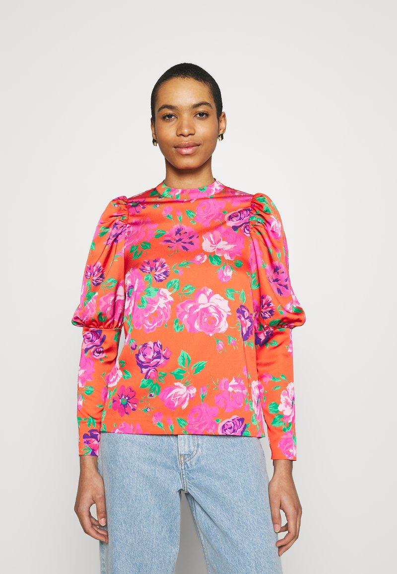 Cras - MILLACRAS BLOUSE - Long sleeved top - pink