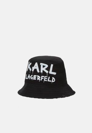 GRAFFITI BUCKET HAT - Hat - black/white