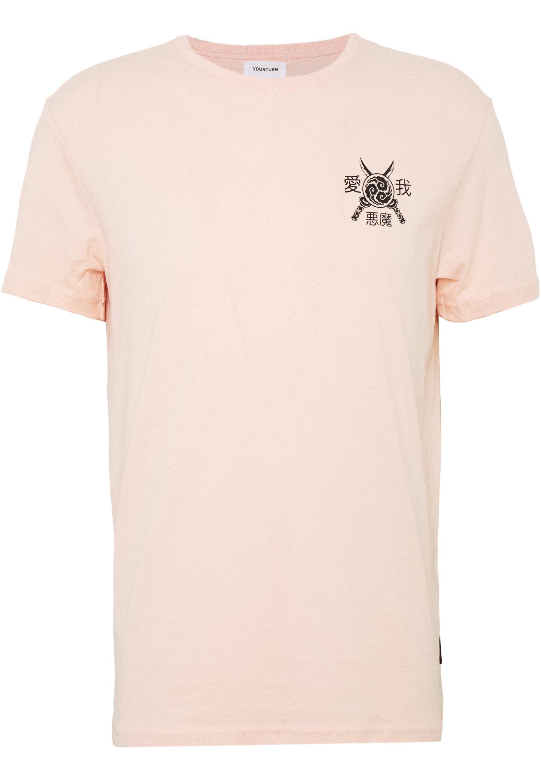 Yourturn T-shirts Med Print - Pink/rosa