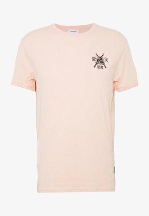 T-shirts med print - pink