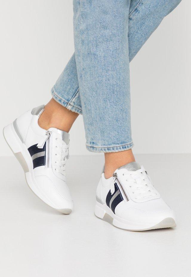 ROLLING SOFT  - Sneaker low - weiß/silber